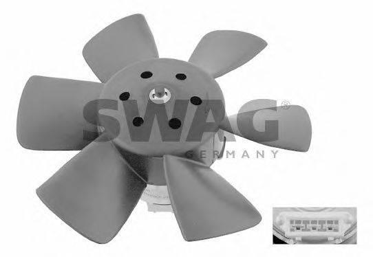 SWAG 30906990 Вентилятор системы охлаждения двигателя