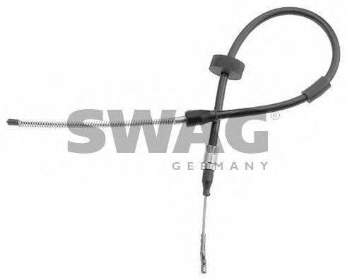 SWAG 30914102 Трос, стояночная тормозная система