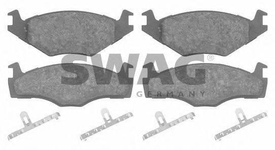 SWAG 30916012 Тормозные колодки
