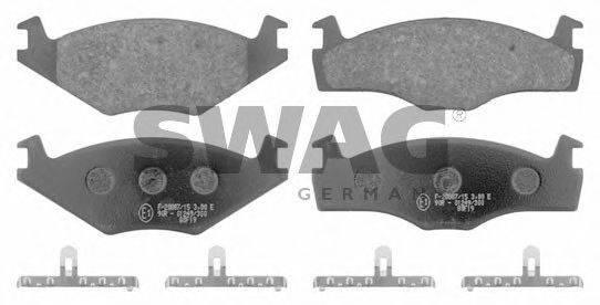 SWAG 30916076 Тормозные колодки