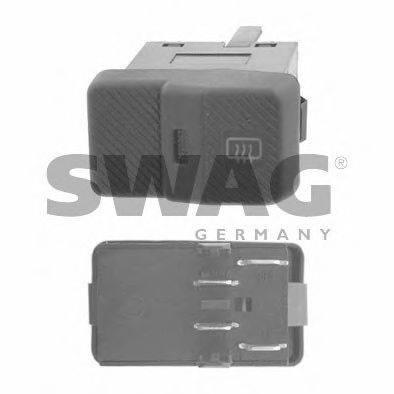 SWAG 30917002 Выключатель, обогреватель заднего стекла