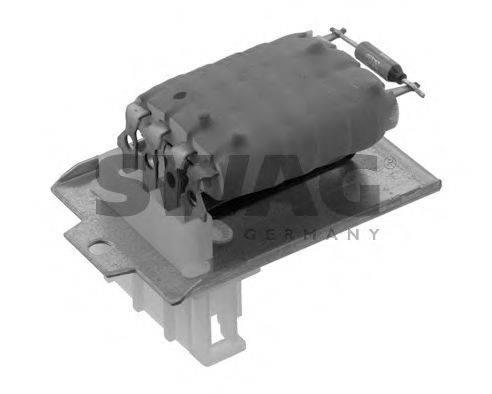 SWAG 30919774 Сопротивление, вентилятор салона
