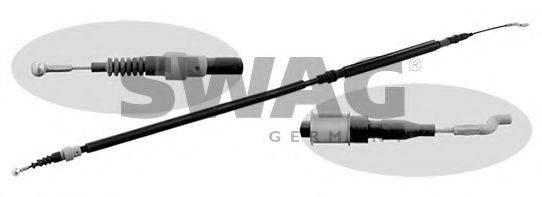 SWAG 30927383 Трос, стояночная тормозная система