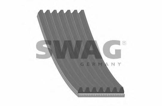 SWAG 30929027 Поликлиновой ремень