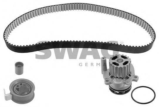 SWAG 30945126 Водяной насос + комплект зубчатого ремня