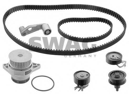 SWAG 30945131 Водяной насос + комплект зубчатого ремня