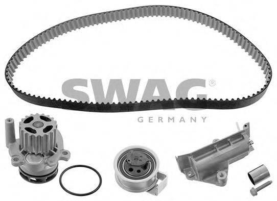 SWAG 30945132 Водяной насос + комплект зубчатого ремня