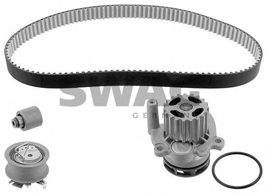 SWAG 30945133 Водяной насос + комплект зубчатого ремня