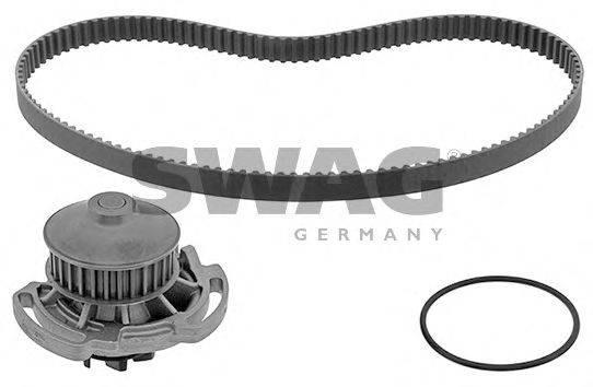 SWAG 30945137 Водяной насос + комплект зубчатого ремня