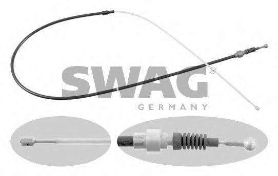 SWAG 32922734 Трос, стояночная тормозная система