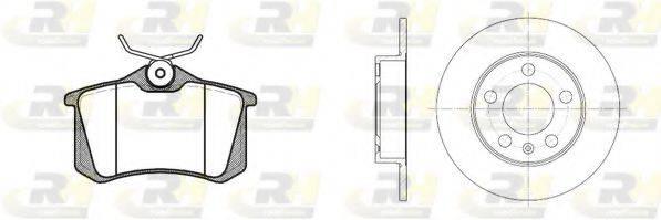 ROADHOUSE 826301 Комплект тормозов, дисковый тормозной механизм