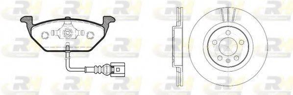 ROADHOUSE 863301 Комплект тормозов, дисковый тормозной механизм