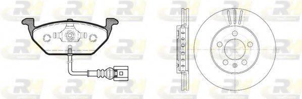 ROADHOUSE 863309 Комплект тормозов, дисковый тормозной механизм