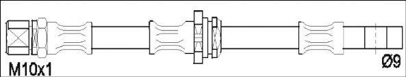 REMSA 190052 Тормозной шланг