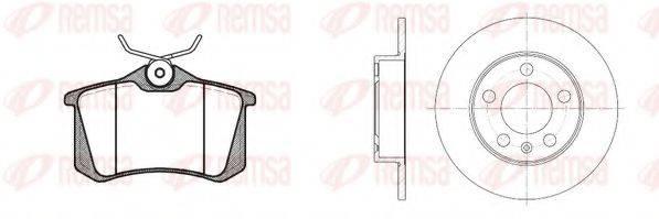REMSA 826301 Комплект тормозов, дисковый тормозной механизм