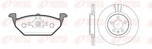 REMSA 863300 Комплект тормозов, дисковый тормозной механизм