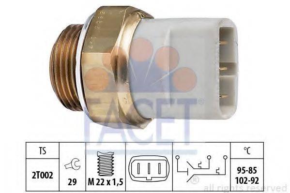 FACET 75635 Термовыключатель, вентилятор радиатора