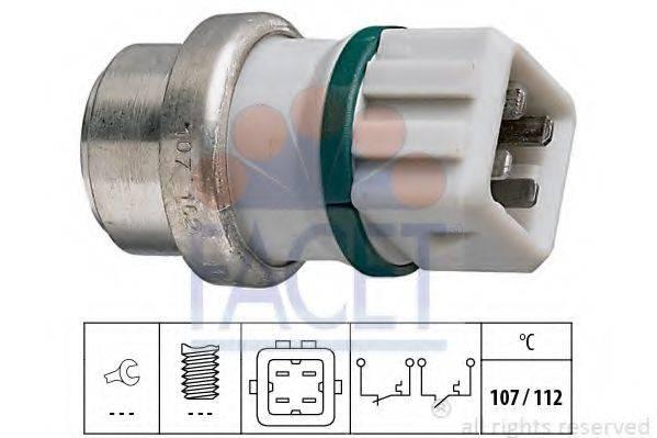 FACET 74104 термовыключатель, сигнальная лампа охлаждающей жидкости