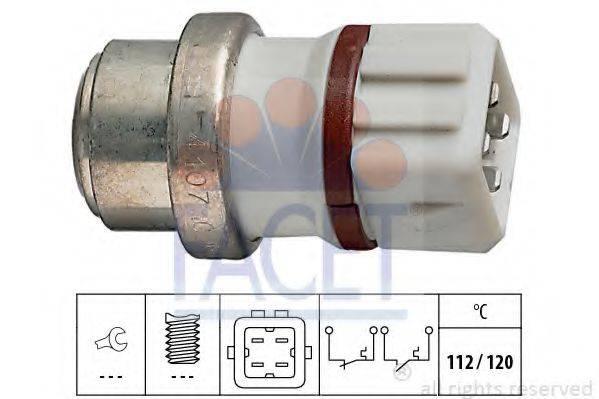 FACET 74107 термовыключатель, сигнальная лампа охлаждающей жидкости