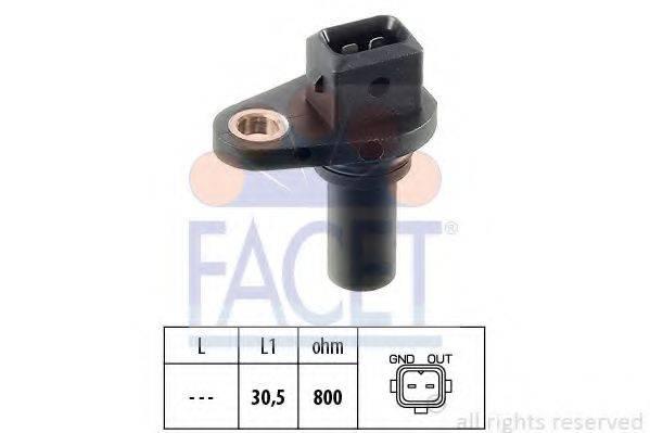 FACET 90028 Датчик частоты вращения, управление двигателем; Датчик частоты вращения, автоматическая коробка передач