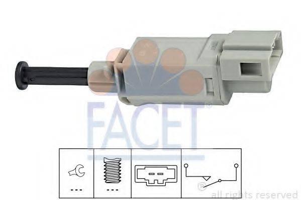 FACET 71152 Выключатель, привод сцепления (Tempomat)