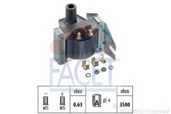 FACET 96025 Катушка зажигания