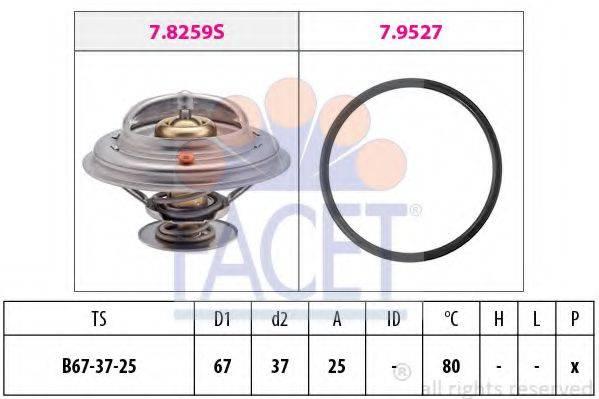 FACET 78259 Термостат