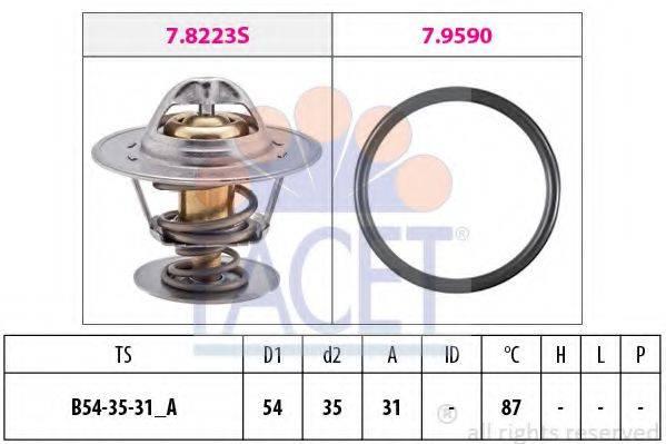 FACET 78432 Термостат