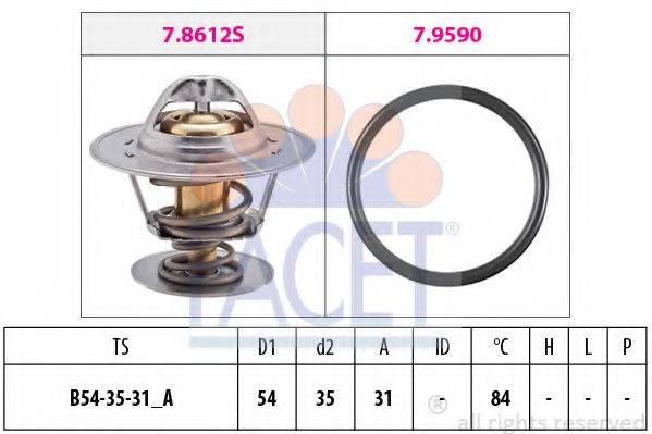 FACET 78612 Термостат