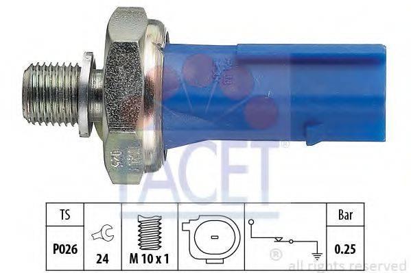FACET 70133 Датчик давления масла