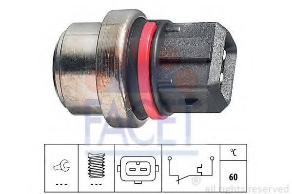 FACET 74075 термовыключатель, сигнальная лампа охлаждающей жидкости