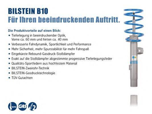 BILSTEIN BIL006052 Комплект ходовой части, пружины / амортизаторы