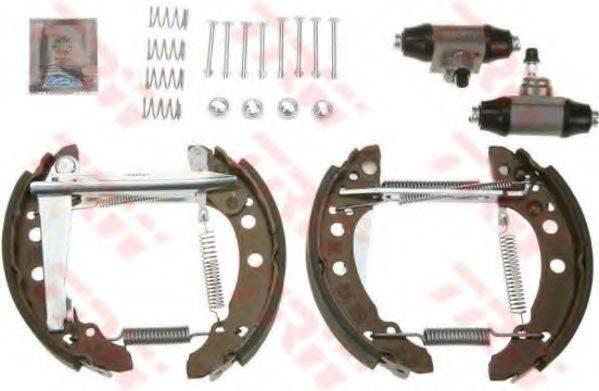 TRW GSK1507 Тормозные колодки барабанные