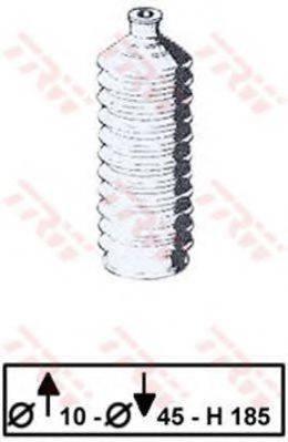 TRW JBE167 Пыльник рулевой рейки