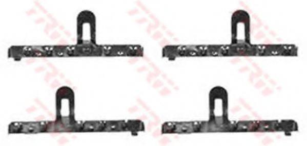 TRW PFK206 Комплектующие, колодки дискового тормоза