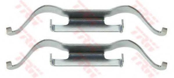 TRW PFK457 Комплектующие, колодки дискового тормоза
