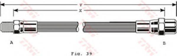TRW PHB111 Тормозной шланг