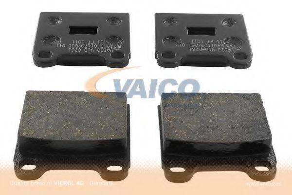 VAICO V100761 Тормозные колодки