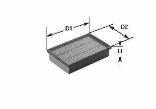 CLEAN FILTERS MA435 Воздушный фильтр