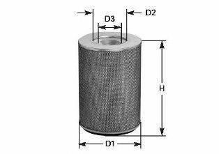 CLEAN FILTERS MA535 Воздушный фильтр