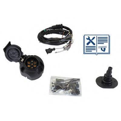 RAMEDER 107596 Комплект электрики, прицепное оборудование