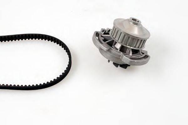 HEPU PK05150 Водяной насос + комплект зубчатого ремня