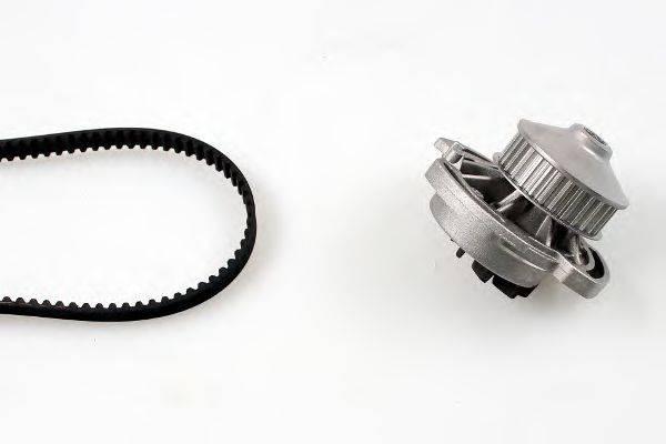 HEPU PK05330 Водяной насос + комплект зубчатого ремня