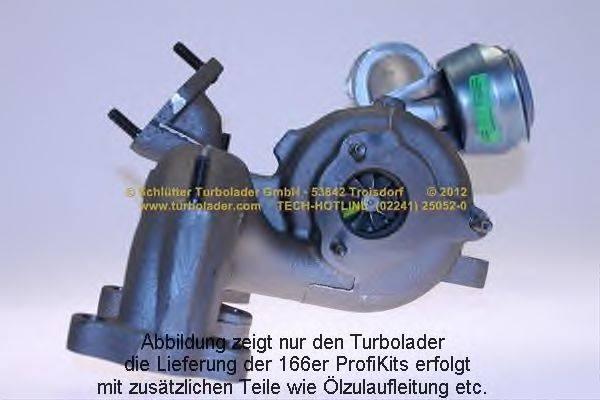 SCHLUTTER TURBOLADER 16601180 Компрессор, наддув