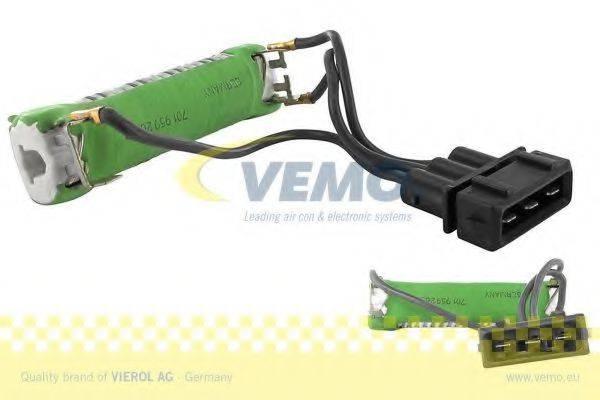 VEMO V10790011 Дополнительный резистор, электромотор - вентилятор радиатора
