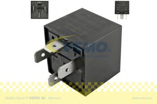 VEMO V15710002 Реле, продольный наклон шкворня вентилятора; Многофункциональное реле