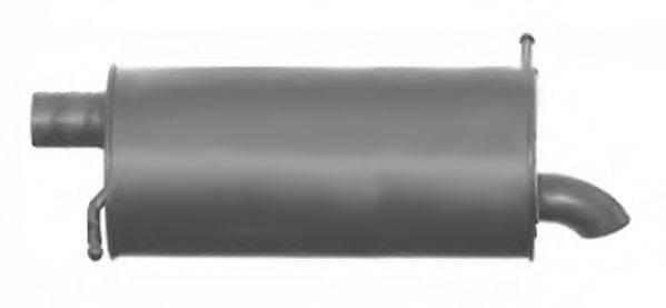 IMASAF 727437 Глушитель выхлопных газов конечный