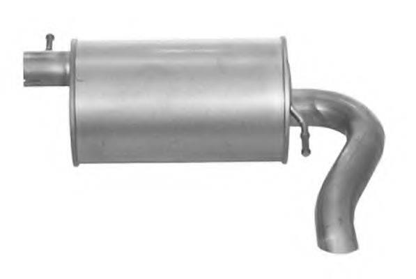 IMASAF 727407 Глушитель выхлопных газов конечный