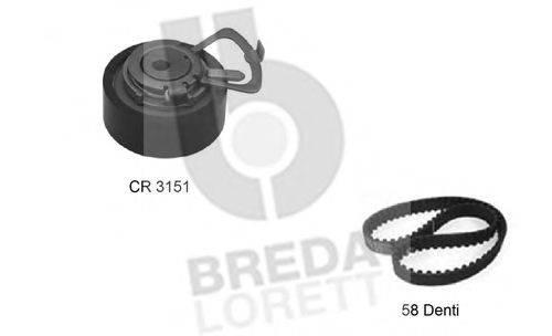 BREDA LORETT KCD0222 Комплект ремня ГРМ