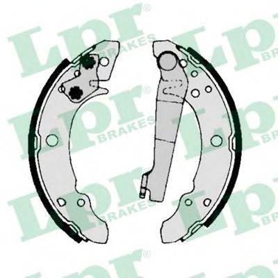 LPR 00140 Тормозные колодки барабанные